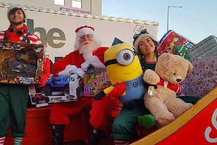 Rock FM's Mission for Christmas appeal'Photo by Clare Traynor
