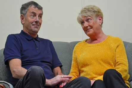 Vivien Thornber and Neil Tranmer are starring as couple Maggie and Billy in Love Story at The Little Theatre, Colne. (s)