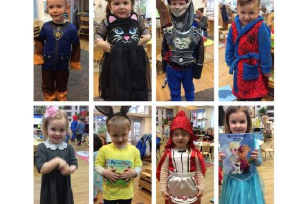 Nursery children look fabulous dressed up as their favourite book characters