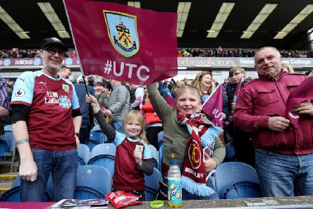 Burnley fans have responded to the crucial point