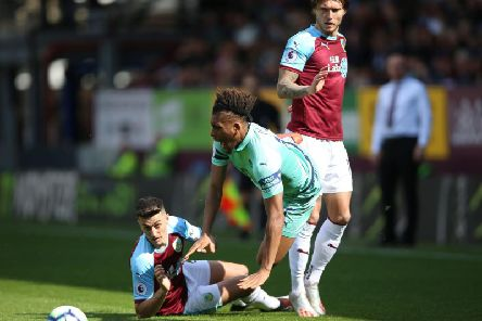 Burnley's Matt Lowton in action against Arsenal on the final day of the 2018/19 season