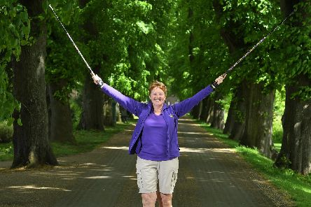 "Dawn McLean: ""Nordic walking gives me joy"""