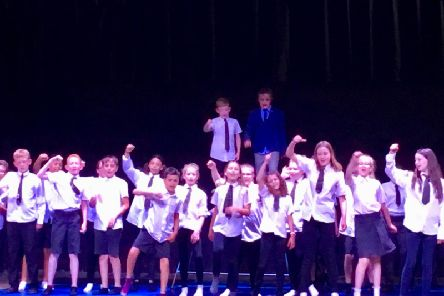 Pupils take centre stage