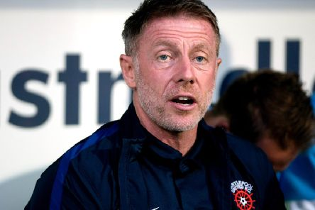 Hartlepool United manager Craig Hignett.