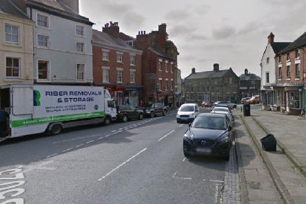Gas supplies were lost to more than 900 properties in Wirksworth on Tuesday