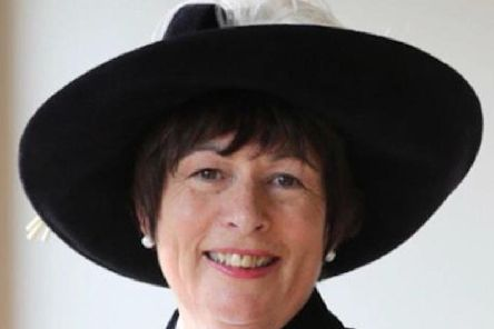 Annie Hall, from Ashford-in-the-Water, was a former High Sheriff of Derbyshire.