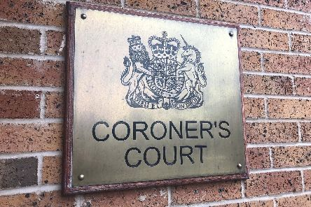 The inquest took place in Chesterfield on Tuesday.
