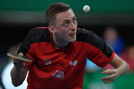 Chesterfield table tennis ace Liam Pitchford. (Photo by Koki Nagahama/Getty Images)