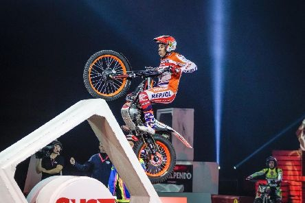 Toni Bou heads the field at this year's Sheffield Indoor Trials.