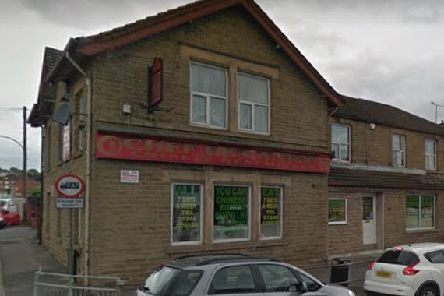 Chef de Canton: 135 Derby Road, Chesterfield, S40 2ER. Picture: Google  Maps