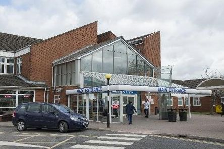 Chesterfield Royal Hospital.