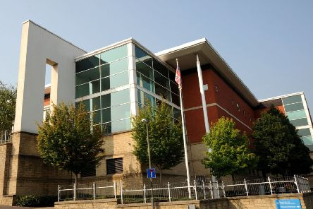 Chesterfield magistrates' court.