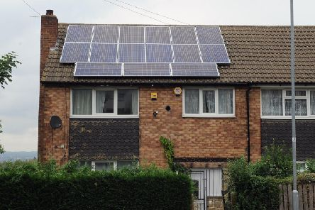 Labour reckons the plan would see 43,000 square metres of rooftops generating electricity in Chesterfield
