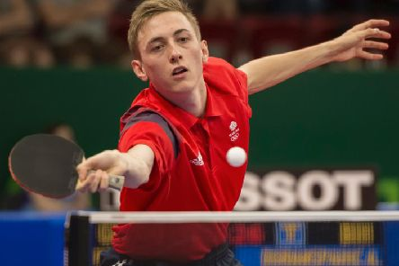 Liam Pitchford in action during the last European Games in Baku