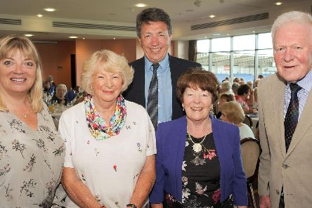 Members of the Robinson family joined former workers for the company's reunion dinner at the Proact Stadium. Pictures by Anne Shelley.