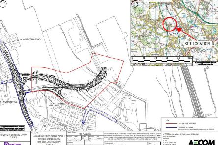 The plans submitted by Derbyshire County Council.