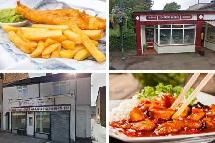 These are all of the restaurants and cafes in Derbyshire with a one or zero hygiene rating (Photo: Shutterstock/Google)