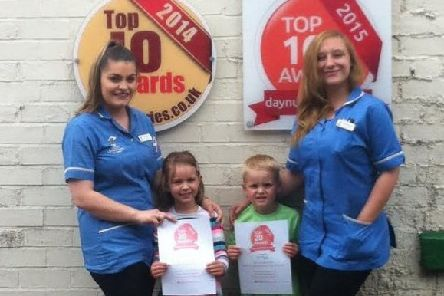 Celebrations are underway at Little Leprechans Day Nursery after top award win.