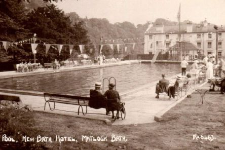 The outdoor lido at Matlock Bath's New Bath Hotel will reopen following restoration on Friday, June 21, exactly 85 years since it welcomed its first swimmers.