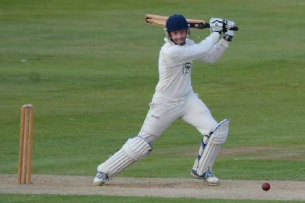 Defiant batting by Drage Thompson helped to spare further blushes for Chesterfield at Elvaston.