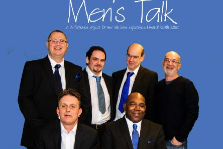 Drama out of a crisis: The Men's Talk group is looking forward to touring a new performance.