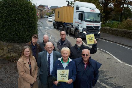 Residents in Flockton say the bypass is needed to ease congestion.