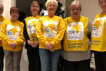 Members of the Batley, Birstall and Spen Marie Curie fundraising group are looking to boost their numbers.