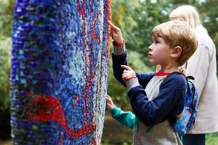 There's plenty to keep the family busy at Yorkshire Sculpture Park this half term. 'Picture: DAVID LINDSAY