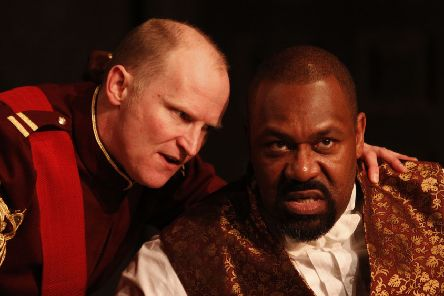 Northern Broadsides & West Yorkshire Playhouse, Dress Rehearsals of Othello by William Shakespeare, with Conrad Nelson as Iago and Lenny Henry as Othello.'nobby@nobbyclark.co.uk