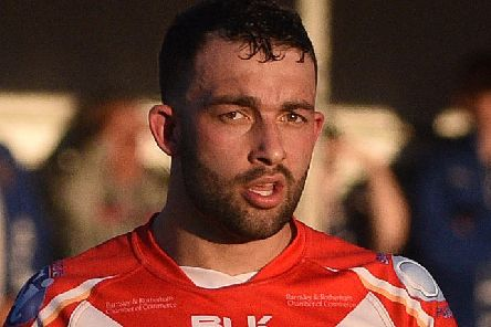 Hunslet's Nathan Chappell. PIC: Andrew Roe