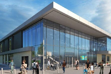 How the new Spen Valley Leisure Centre will look (Photo Credit Ellis Williams Architects.)