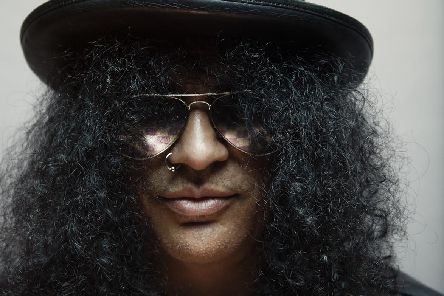 Rock legend Slash appeared at The Dome.