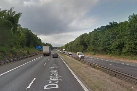 The A1(M) motorway near Doncaster (pic: Google)