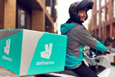 Fast food delivered straight to your door' Mikael Buck / Deliveroo