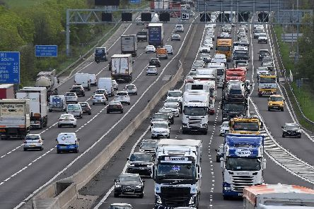 Traffic on the M1 and M18 could be hit by Brexit protests.