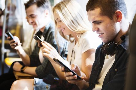 Do you think that young people are too reliant on their phones?