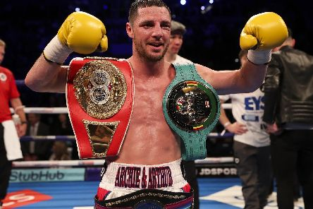 Boxer Tommy Coyle