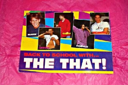 Rare Take That document wallet