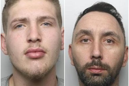 Lewis Darcy and Alan Forster were jailed during a hearing held at Sheffield Crown Court on Tuesday, May 22