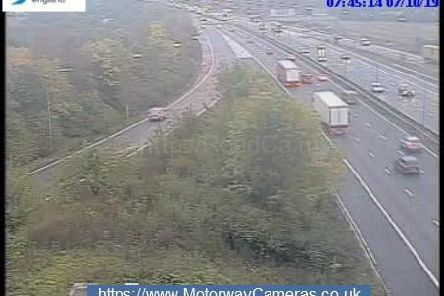 Junction 24 of the M1.