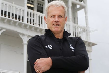 Nottinghamshire's head coach Peter Moores