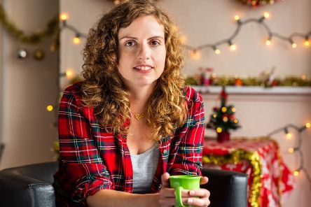 Sophie is part of the Samaritans' Christmas campaign, 'Be part of the story'. Picture: Adam Hollingworth