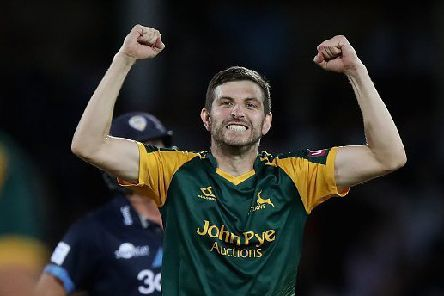 Harry Gurney of Nottinghamshire  (Photo by David Rogers/Getty Images)