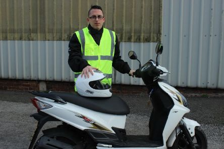 New moped scheme helps people get to work in Nottinghamshire