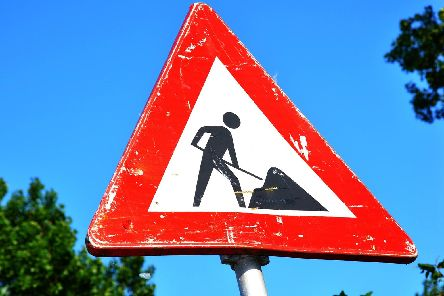 Take a look and see if there's any roadworks in your area.