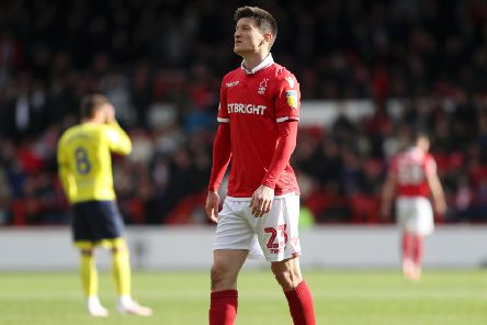 Joe Lolley has been a key player since signing for Nottingham Forest. (Photo by Kate McShane/Getty Images)