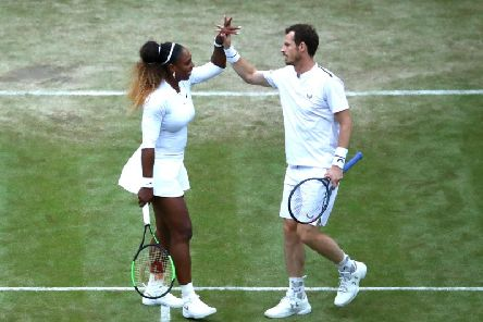 Andy Murray and Serena Williams are red hot favourites for the mixed doubles title at Wimbledon.