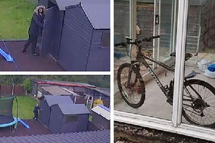 The bicycle was stolen from a shed in a garden on Bailey Brook Drive