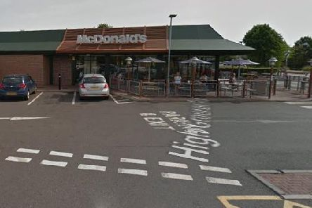 McDonald's on Highgrounds Road, Worksop
