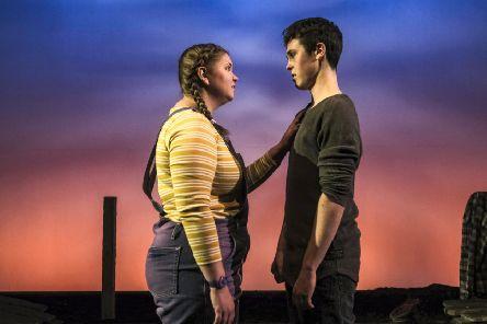 Kate Hargreaves and Misha Butler in Jess and Joe Forever.